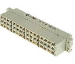 Konektor: 09050483202 HARTING-Konektor DIN 41612 Harting; 09050483202 ;řada 09 05 Samice rozteč 5.08mm 48cestný 3řadý Rovný typ E Krimpovací Harting