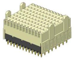 Backplane Connectors: 10052842-101LF-FCI Amphenol: Backplane Connectors: 10052842-101LF   Connector AirMax VS VS2; 96pos. Female Press-fit