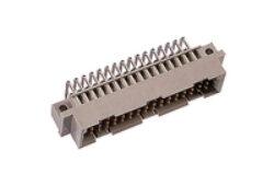 DIN konektor: 103-90014-EPT DIN konektor: 103-90014 ; DIN 41612 C/2 Male úhlová pájecí RM2,54mm, 32pin, délka pinu 3,00mm SPQ :54ks