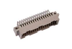 DIN konektor 103-90165-EPT: 103-90165 DIN 41612 Zástrčka přímá, typ C / 2; Délka zakončení 3 mm; 48 kontaktů; pájka