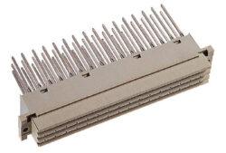 EPT: DIN konektor: 110-40064-EPT: DIN konektor 110-40064: DIN 41612 Zásuvka přímá, typ F; Délka zakončení 22 mm; Zakončení 1x1 mm; 48 kontaktů; pájka; zakončovací strana Sn pokovená pro ovinutí drátu