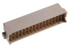 EPT: DIN konektor: 111-40264-EPT: DIN konektor: 111-40264 DIN 41612 Zástrčka 90 °, typ G; Ter. délka 3 mm; 64 pinů, pájka; předběžný kontakt v poz. Z2 a Z32