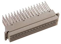 EPT: DIN konektor: 112-40065-EPT: DIN konektor: 112-40065 DIN 41612 Samice přímá, typ G; Ter. délka 22 mm; 64 pinů, pájka; zakončovací strana Sn pokovená pro ovinutí drátu