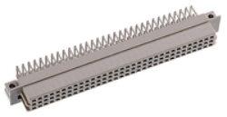 DIN konektor:116-40074-EPT: DIN konektor:116-40074 DIN 41612 R Female 90° letovací RM2,54mm, 96pin, délka pinu 3,00mm SPQ :27ks = Harting 09 73 296 7801