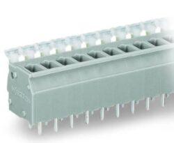 WAGO 255-401-Svorkovnice DPS WAGO 255-401 ; rovný; 5 mm; způsoby: 1; na PCB; 0,08 ÷ 2,5 mm2