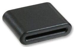 EMC Ferit s děleným jádrem: 28R1775-000-Laird: Feritové jádro pro odrušení EMI na ploché kabely pro max.26 žil B=34,42mm; A=45,08mm, E=1,52mm; D=12,45mm (Impedance 25Mhz-115 Ohm; 100Mhz-260 Ohm; 300MHz-530 Ohm)
