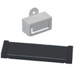 EMC Ferit s děleným jádrem: 28S2011-0P0-Laird: 28S2011-0P0 Feritové jádro EMI na ploché kabely dělené pro max.40 žil B=65,28mm; A=76,20mm, E=0,84mm; D=6,35mm (Impedance 25Mhz-100 Ohm; 100Mhz-280 Ohm; 300MHz-600 Ohm)