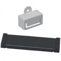 EMC Ferit s děleným jádrem: 28S2011-0P0-Laird: Feritové jádro EMI na ploché kabely dělené pro max.40 žil B=65,28mm; A=76,20mm, E=0,84mm; D=6,35mm (Impedance 25Mhz-100 Ohm; 100Mhz-280 Ohm; 300MHz-600 Ohm)