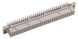 DIN konektor: 304-60064-02-EPT: DIN konektor: 304-60064-02 DIN 41612 C Female přímá Press-fit RM2,54mm, 96pin, délka pinu 4,60mm SPQ :25ks = Erni: 254015, 0903296650