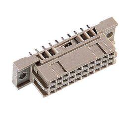 DIN konektor: 304-78016-03-EPT: DIN konektor: 304-78016-03 EPT DIN 41612 Samice přímá, typ C / 3 30 kontaktů; Lisované, délka zakončení = 13 mm; SPQ 21 / 357ks ~ ERNI 284176