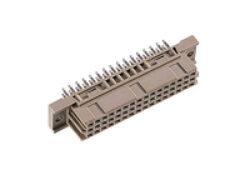DIN konektor: 304-79066-03-EPT: DIN konektor: 304-79066-03 DIN 41612 C/2 Female přímá pájecí RM2,54mm, 48pin, délka pinu 13,00mm SPQ :21ks ~ ERNI 284136