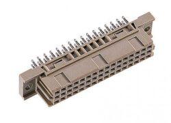 DIN konektor: 304-79116-04-EPT: DIN konektor: 304-79116-04 C/2 Female přímý Press-fit RM2,54mm, 32pin, délka pinu 17,00mm; SPQ:21/357