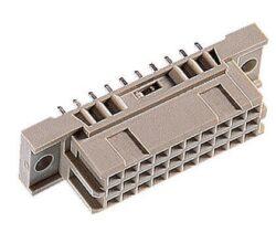 DIN konektor: 304-80064-05-EPT: DIN konektor: 304-80064-05 ; DIN 41612  C/3 Female přímý pájecí RM2,54mm, 30pin, délka pinu 2,5mm; SPQ:45 = Harting 09291306903