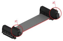 EPT: 404-6112-080-120-1-EPT: 404-6112-080-120-1 Sestava kabelu One27 12kolíkový 80mm PVC, AWG 30/7 plochý plochý kabel 0,635mm SPQ: 10 / 100ks