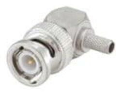 Vysokofrekvenční konektor: 51S207-306N5-Rosenberger: Vysokofrekvenční konektor BNC male/plug krimpovací na kabel R/A RG58 Rosenberger