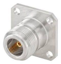 Vysokofrekvenční konektor: 53K407-108N5-Rosenberger: Vysokofrekvenční konektor N female/jack panelový RG142