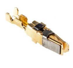 Kontakt: AMP 66740-6-AMP: Kontakt, Multimate, Série Type XII, Zdířka, Krimpovací, 12 AWG, Pozlacené Kontakty, Samice