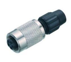 Konektor: 711-99-0080-100-04-Binder: Konektor: 711-99-0080-100-04  Kontakty: 4, zásuvka kabelového konektoru, kabelová zásuvka 3 -4 mm
