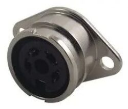 DIN Audio / Video Connector: 71206-040/0800 - PREHKEYTEC: DIN Audio / Video Konektor: 71206-040/0800 ,DIN Audio / Video Konektor, 4 Kontaktů, Jack, Paneová Montáž, Pájecí, Kontakty Potažené Cínem; Série 71206