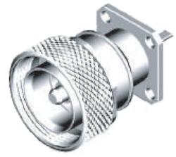 Vysokofrekvenční konektor: 716-3105-TSS-Schmid-M: Vysokofrekvenční konektor 7/16: VF konektory 7/16 male/plug panelový