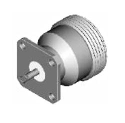 Vysokofrekvenční konektor: 716-3229-TSS-Schmid-M: Vysokofrekvenční konektor 7/16: VF konektory 7/16 female/jack panelový