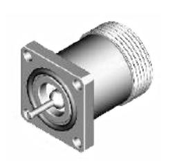 Vysokofrekvenční konektor: 716-3233-TSS-Schmid-M: Vysokofrekvenční konektor 7/16: VF konektory 7/16 female/jack panelový