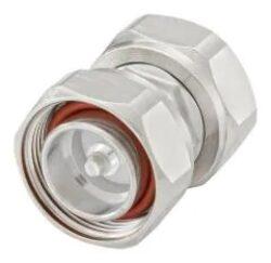 Vysokofrekvenční adaptér: 716-604-TSS-Schmid-M: Vysokofrekvenční adaptér 7/16 Plug-Plug = Rosenberger 60S101-SIMN1