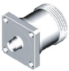 Vysokofrekvenční konektor: 716-7204-TSS-Schmid-M: Vysokofrekvenční konektor 7/16: VF konektory 7/16 female/jack na Semi-rigid kabel