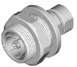 """Vysokofrekvenční konektor: 716-8226-TSS, cable 7/8""""-Schmid-M: Vysokofrekvenční konektor 7/16: VF konektory 7/16 female/jack pro vlnité (Corrugated)  kabely"""