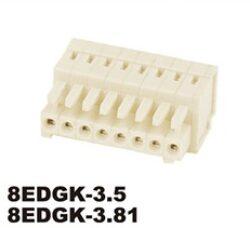 Svorkovnice na kabel nasouvací: 8EDGK-3.5-02P-11-01AH-DEGSON: Svorkovnice na kabel nasouvací: 8EDGK-3.5-02P-11-01AH RM 3,50mm 2 Poles
