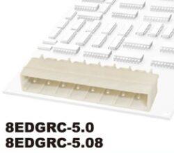Svorkovnice do DPS nasouvací: 8EDGRC-5.08-02P-11-01AH-DEGSON: Svorkovnice do DPS nasouvací: 8EDGRC-5.08-02P-11-01AH  RM:5,08mm 2-polové