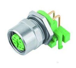 Binder 99-3732-202-04-Binder: Konektor M12-D, 4pinů  do panelu IP67, UL