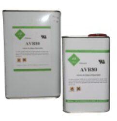 Acrylic Conformal Coating AVR80BA-01L-AB CHIMIE: Acrylic Conformal Coating, non toxic, package: 1L; Temperature range of - 65°C to + 150°C.