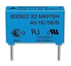 Capacitor B32922C3474M000-TDK EPCOS: Capacitor B32922C3474M000 MKP