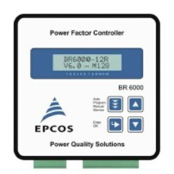 B44066R6012E230-TDK: Power Factor Regulator B44066R006R230 PFC controller BR6000 12-step, 230V 12 relays