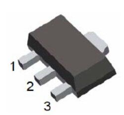 Tranzistor BCX54-16-Tranzistor BCX54-16 PNP 1A 45V  HFE:40 SOT-89