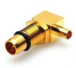 BMA-1104-TGG-Schmid-M: RF Coaxial Connector BMA Male/Plug Bulkhead