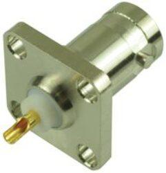 Vysokofrekvenční konektor: BNC-3201-TGN-Schmid-M: Vysokofrekvenční konektor BNC: Vysokofrekvenční konektor BNC female/jack panelový; Huber+Suhner 23 BNC-50-0-12/133NE 22540349