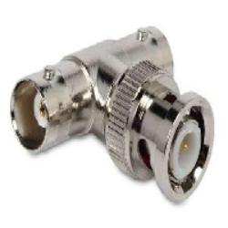 Vysokofrekvenční konektor:BNC-606-DGN-Schmid-M: Vysokofrekvenční konektor BNC  adapter = Huber Suhner 43_BNC-50-0-1/133_NE  22540644