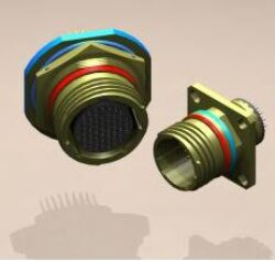 MIL Connector: RF Immunity C3W09W35P4N07PP43-MIL Connector: RF Immunity C3W09W35P4N07PP43 Connector MIL-C-38999; Series III; Wall Mount receptacle; shell size 09; Contact Type-Plug; Terminator - Short PCB Tail; Key 75°; 200V; Filter PP43 - 3nF(100MHz-58dB)