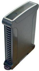 ELBAG CMX 38/17 CTR N-ELBAG: Plastová krabička na DIN lištu s=17,5mm černá; rozměry: karta (104,6x78x14,35mm), venkovní rozměry (119,15x97,56x17,6mm)