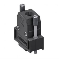 CTL09UN4-DELTRON D-sub plastic hood 9P SPQ:100