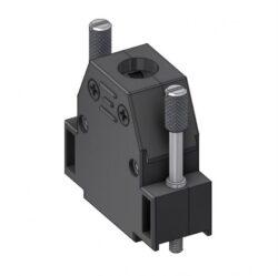 CTL15UN4-DELTRON D-sub plastic hood 15P SPQ:100