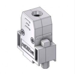 CTLM09RUN4-DELTRON D-Sub metallized hood 9P SPQ:100