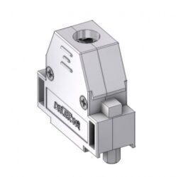 CTLM15RUN4-DELTRON D-Sub metallized hood 15P SPQ:100