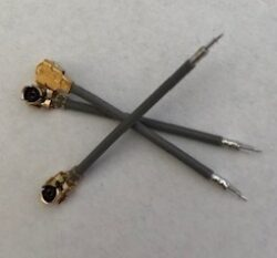Cable Assemblies: Connector UFL + Cable 1.13 mm-Schmid-M: Cable Assemblies: Connector UFL + Cable 1.13 mm ;  Cable Length 30mm+-3mm strip end 1+1,5+22mm