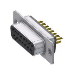 D15SZ/2FP102-DELTRON D-Sub filter-socket 15P/Female SPQ:66