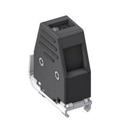 DCE09-DELTRON D-sub plastic hood 9P SPQ:100