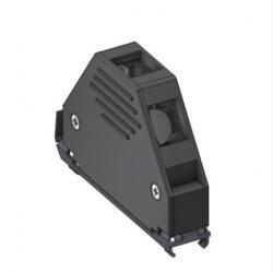 DCE37-DELTRON D-sub plastic hood 37P SPQ:100