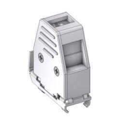 DCEM09-DELTRON D-Sub metallized hood 9P SPQ:100